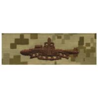 Vanguard NAVY EMBROIDERED BADGE: SSBN DETERRENT PATROL - DESERT DIGITAL