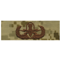 Vanguard NAVY EMBROIDERED BADGE: SENIOR E.O.D. - DESERT DIGITAL
