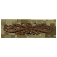 Vanguard NAVY EMBROIDERED BADGE: SURFACE WARFARE DENTAL - DESERT DIGITAL
