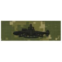 Vanguard NAVY EMBROIDERED BADGE: SSBN DETERRENT PATROL - WOODLAND DIGITAL