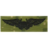 Vanguard NAVY EMBROIDERED BADGE: NAVAL FLIGHT OFFICER - WOODLAND DIGITAL