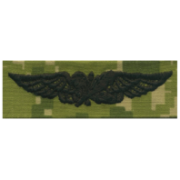 Vanguard NAVY EMBROIDERED BADGE: AVIATION SUPPLY - WOODLAND DIGITAL