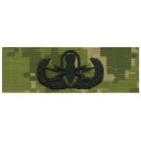 Vanguard NAVY EMBROIDERED BADGE: BASIC E.O.D. - WOODLAND DIGITAL
