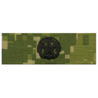 Vanguard NAVY EMBROIDERED BADGE: COMMAND AT SEA - WOODLAND DIGITAL