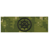 Vanguard NAVY EMBROIDERED BADGE: CRAFTMASTER - WOODLAND DIGITAL