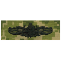 Vanguard NAVY EMBROIDERED BADGE: SURFACE WARFARE SUPPLY - WOODLAND DIGITAL