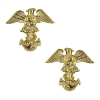 Vanguard NAVY ROTC COLLAR DEVICE: MIDSHIPMAN FIRST CLASS