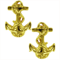 Vanguard NAVY ROTC MIDSHIPMAN COLLAR DEVICE