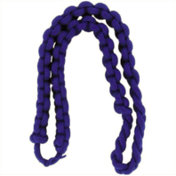 Vanguard ARMY SHOULDER CORD: 2723 INTERWOVEN ONE COLOR ROYAL BLUE - THICK