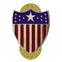 Vanguard ARMY OFFICER BRANCH OF SERVICE COLLAR DEVICE: ADJUTANT GENERAL