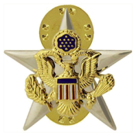 Vanguard ARMY OFFICER BRANCH OF SERVICE COLLAR DEVICE: GENERAL STAFF