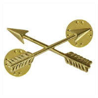 Vanguard ARMY OFFICER BRANCH OF SERVICE COLLAR DEVICE: SPECIAL FORCES