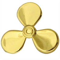Vanguard NAVY COLLAR DEVICE: ENGINEER AND NUCLEAR POWER TECHNICIAN - GOLD