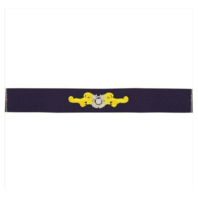 Vanguard COAST GUARD AUXILIARY EMBROIDERED BADGE: CUTTERMAN - RIPSTOP FABRIC