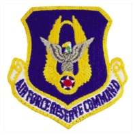 Vanguard AIR FORCE PATCH: RESERVE COMMAND - FULL COLOR WITH HOOK CLOSURE
