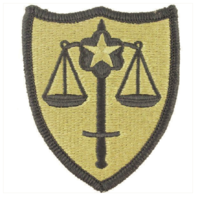 Vanguard ARMY PATCH: US ARMY TRIAL DEFENSE SERVICE - EMBROIDERED ON OCP