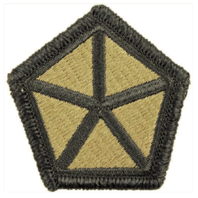 Vanguard ARMY PATCH: 5TH CORPS - EMBROIDERED ON OCP