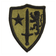 Vanguard ARMY PATCH: NORTH ATLANTIC TREATY ORG (NATO) - EMBROIDERED ON OCP