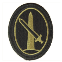 Vanguard ARMY PATCH: MIDWAY MILITARY DISTRICT OF WASHINGTON - EMBROIDERED ON OCP