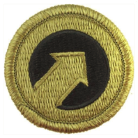 Vanguard ARMY PATCH: FIRST SUPPORT COMMAND - EMBROIDERED ON OCP
