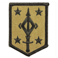 Vanguard ARMY PATCH: FOURTH MANEUVER ENHANCEMENT BRIGADE - EMBROIDERED ON OCP