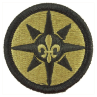 Vanguard ARMY PATCH: 316TH SUSTAINMENT COMMAND - EMBROIDERED ON OCP