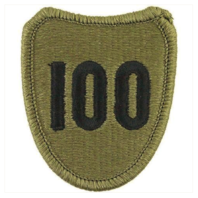 Vanguard ARMY PATCH: 100TH INFANTRY TRAINING DIVISION - EMBROIDERED ON OCP