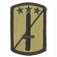 Vanguard ARMY PATCH: 170TH INFANTRY BRIGADE - EMBROIDERED ON OCP