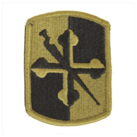 Vanguard ARMY PATCH: 58TH INFANTRY BRIGADE COMBAT TEAM - EMBROIDERED ON OCP