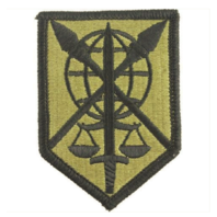 Vanguard ARMY PATCH: 200TH MILITARY POLICE COMMAND - EMBROIDERED ON OCP