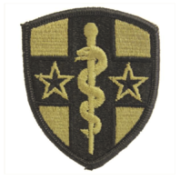 Vanguard ARMY PATCH: ARMY RESERVE MEDICAL COMMAND - EMBROIDERED ON OCP