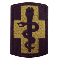 Vanguard ARMY PATCH: 330TH MEDICAL BRIGADE - EMBROIDERED ON OCP