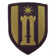 Vanguard ARMY PATCH: 372ND ENGINEER BRIGADE - EMBROIDERED ON OCP