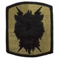 Vanguard ARMY PATCH: 35TH SIGNAL BRIGADE - EMBROIDERED ON OCP