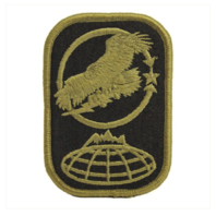Vanguard ARMY PATCH: 100TH MISSILE DEFENSE BRIGADE EMBROIDERED ON OCP