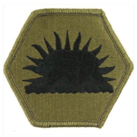 Vanguard ARMY PATCH: CALIFORNIA NATIONAL GUARD - EMBROIDERED ON OCP