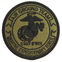 Vanguard MARINE CORPS PATCH 2ND EXPEDITIONARY FORCE AIR GROUND TEAM EMBROIDERED