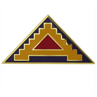 Vanguard ARMY COMBAT SERVICE IDENTIFICATION BADGE (CSIB): 7TH ARMY