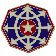 Vanguard ARMY COMBAT SERVICE IDENTIFICATION US CRIMINAL INVESTIGATION COMMAND