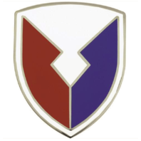 Vanguard ARMY COMBAT SERVICE IDENTIFICATION BADGE US ARMY MATERIEL COMMAND - AMC