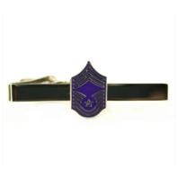 Vanguard AIR FORCE TIE BAR: CHIEF MASTER SERGEANT