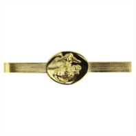 Vanguard MARINE CORPS TIE CLASP: NON-COMMISSIONED OFFICER - 24K GOLD PLATED