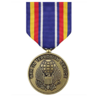 Vanguard FULL SIZE MEDAL GLOBAL WAR ON TERRORISM SERVICE
