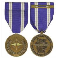Vanguard Full Size NATO Afghanistan Non Article 5 Military Medal Award