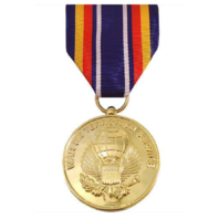 Vanguard FULL SIZE MEDAL GLOBAL WAR ON TERRORISM SERVICE - 24K GOLD PLATED