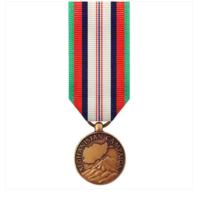 Vanguard (Mini) Miniature Afghanistan Campaign Military Award Medal