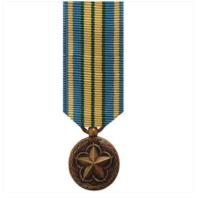 Vanguard (Mini) Miniature Military Outstanding Volunteer Service Medal Award