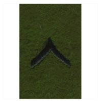 Vanguard ARMY LEADERSHIP RANK TAB: PRIVATE
