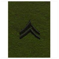 Vanguard ARMY LEADERSHIP RANK TAB: CORPORAL