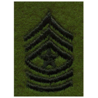 Vanguard ARMY LEADERSHIP RANK TAB: SERGEANT MAJOR